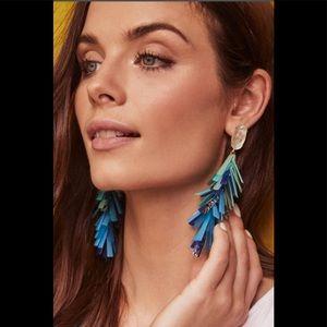 Kendra Scott Justyne Tassel Statement Earrings